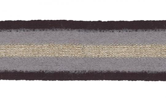 1 m Strickband mit Metalliceffekt 35 mm breit