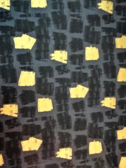 """0,1 m Druckstoff  """"Shine Objects - Quadrat""""  ca. 112 cm br."""
