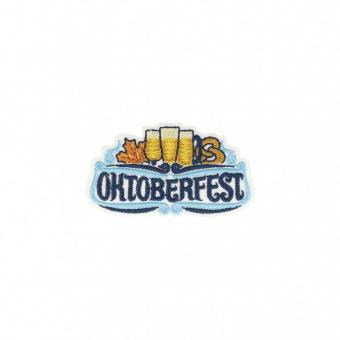 "Applikation ""Oktoberfest"" ca.60x33 mm"