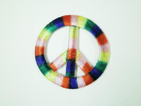 "Applikation ""Peace"" ca.38 mm Durchmesser"