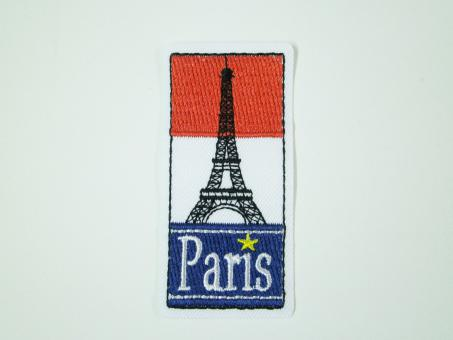 "Applikation ""Paris"" 30x65 mm"