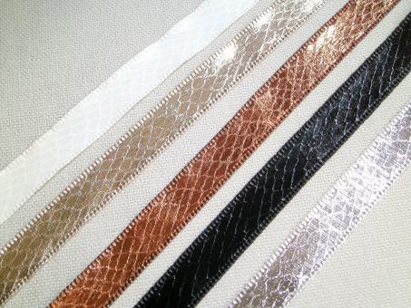 "1 m Textilband ""Schlange"" 13 mm br."