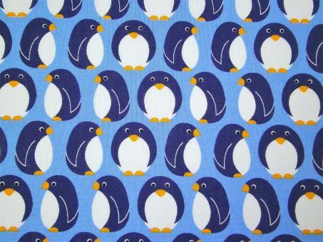 """0,1 m Druckstoff  """"Junge Linie"""" Pinguine 150 cm br. Westfalen"""