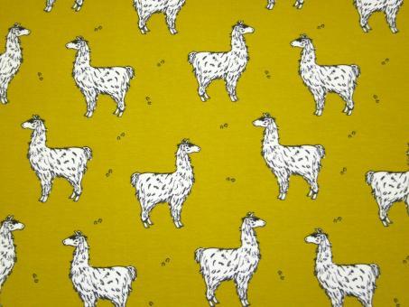 "0,1 m Single-Jersey  ""Lama"" 160 cm br. Bio-Baumwolle"