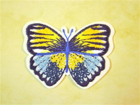"Applikation ""Schmetterling"" ca. 50x40 mm"