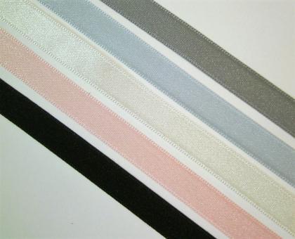 1 m Satinband Polyester recycelt 10 mm br.